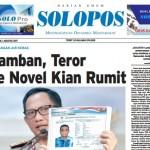 SOLOPOS HARI INI : Lamban, Teror ke Novel Kian Rumit