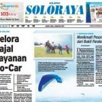 SOLOPOS HARI INI : Soloraya Hari Ini: Gelora Jajal Layanan Go-Car
