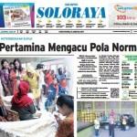 SOLOPOS HARI INI : Soloraya Hari Ini: Pertamina Mengacu Pola Normal