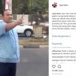 Sopir taksi marah-mara pada bule minta ganti rugi (Instagram)