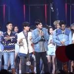 K-POP : Momen Canggung Baekhyun Bertemu Taeyeon SNSD di Panggung