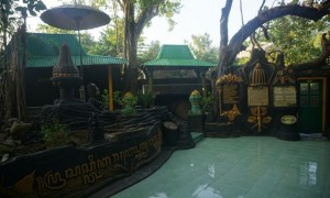 Tempat peziaran di Keraton Pajang, Sukoharjo (Mariyana Ricky/JIBI/Solopos)