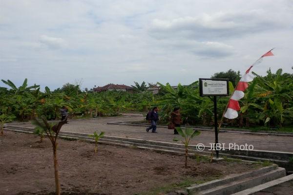 Kawasan Kebun Plasma Nutfah Pisang di Giwangan yang mulai dikembangkan menjadi kawasan Agrowisata. (Ujang Hasanudin/JIBI/Harian Jogja)