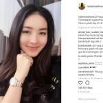 Natasha Wilona Girang Punya 7 Juta Followers di Instagram