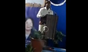 Video Victor Laiskodat saat berpidato di Kupang, NTT. (Twitter)