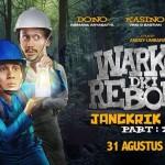 Warkop DKI Reborn Part 2 Tembus 4 Juta Penonton
