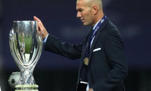 Pelatih Real Madrid Zinedine Zidane (JIBI/Reuters/Eddie Keogh)