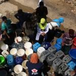 FOTO KEMARAU 2017 : Air Bersih Mulai Diantar ke Grobogan