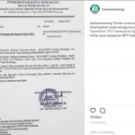 TRANSPORTASI SEMARANG : Catat! Trans Semarang Jalan Lebih Siang saat Iduladha