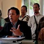 FOTO INDUSTRI JAMU : Pekerja Nyonya Meneer Tuntut Hak