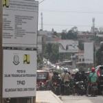 TRANSPORTASI SEMARANG : Proyek Underpass Jatingaleh Molor, Rute 2 Koridor BRT Trans Semarang Dialihkan