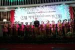 Prosesi wisuda 64 siswa Sanggar Pasinaon Pambiwara Karaton Surakarta di bawah yayasan Pawiyatan Kabudayan Jawi Karaton Surakarta di Sasana Mulya, Sabtu (5/8/2017) malam. (Ika Yuniati/JIBI/Solopos)
