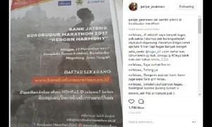 Unggahan Gubernur Jateng Ganjar Pranowo yang justru mengundang keluhan mengenai sistem lima hari sekolah. (Instagram-@ganjarpranowo)