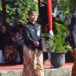 HUT JATENG : Pimpin Upacara, Gubernur Jateng Tampil Ganteng
