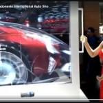 GIIAS 2017 : Monitor Transparan Ini Singkap Isi Mobil