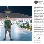 INSTAGRAM ARTIS : Ke Masjid Agung Demak, El Malah Bikin Kecewa