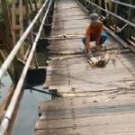 INFRASTRUKTUR KENDAL : Memprihatinkan, Begini Kondisi Jembatan di Kangkung