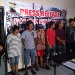 PERJUDIAN SOLO : Jual Capjiki di Rumah, Wanita Asal Serengan Ditangkap Bersama 5 Pria