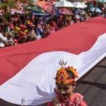 Foto Karnaval Pembangunan Meriah di Demak