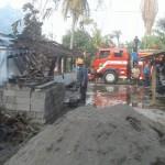 KEBAKARAN BOYOLALI : Rumah Warga Sambi Terbakar, 7 Kambing dan 1 Ton Gabah Hangus