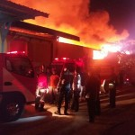 Kebakaran Gudang Delta Merlin Sukoharjo Baru Padam Pukul 10.00 WIB