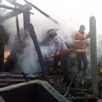 KEBAKARAN GUNUNGKIDUL : Pabrik Tahu Ludes Terbakar