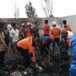 KEBAKARAN KARANGANYAR : Ditinggal Pergi, Rumah Warga Karangpadan Ludes Terbakar