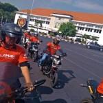 KOMUNITAS SEMARANG : Puluhan Bikers Honda Ziarah ke TMP Giri Tunggal