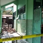 KEBAKARAN KARANGANYAR : 4 Ruangan di MAN Gondangrejo Hangus Dilalap Api