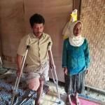 KISAH TRAGIS : Pria Pemotong Kayu di Ponorogo Kehilangan Kaki akibat Kena Gergaji