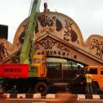 Gapura Baru Batas Kota di Jalan Adisutjipto akan Dipasang Kamis Malam