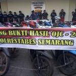 PENCURIAN SEMARANG :  Operasi Jaran, Polisi Semarang Sita 48 Motor dan 1 Truk