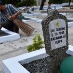 FOTO HUT RI : Taman Makam Pahlawan Berbenah