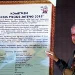 Foto Pilgub Jateng 2018 Resmi Diluncurkan