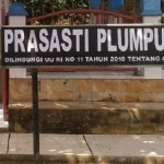 Prasasti Plumpungan di Kampung Plumpungan, Kelurahan Kauman Kidul, Kecamatan Sidorejo, Kota Salatiga, Jateng. (Facebook.com-Chen Fa Juventus)
