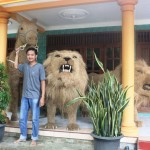 Wangi! Replika Singa Wonogiri Ini Tercium Sampai Luar Negeri