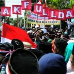 FOTO DEMO BATANG : Riuh Rendah Penolakan Full Day School