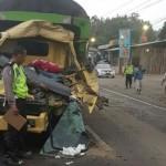 KECELAKAAN KARANGANYAR : Tabrak Bus Lalu Disambar Truk, Pelajar Madiun Tewas di Jaten