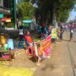 INFRASTRUKTUR SOLO : Drainase Diperbaiki, PKL CFD Slamet Riyadi Diminta Pindah ke Sisi Barat