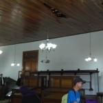 CAGAR BUDAYA SOLO : Plafon Museum Radya Pustaka Ambrol, Koleksi Ditempatkan di Gudang