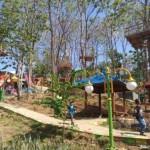 WISATA WONOGIRI : Bahayakan Pengunjung, Sudah Setahun Rumah Pohon Kampung Galau Mangkrak