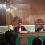 2 Peleton Polisi Jaga Ketat Sidang Dugaan Penistaan Agama Kasek Sambirejo Sragen