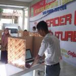 PENDIDIKAN SOLO : Siswa SMA Batik 1 Pilih Ketua OSIS secara Online