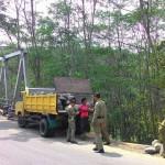 PERTAMBANGAN KARANGANYAR : Berbahaya dan Tak Berizin, Penambang Pasir Dung Nganten Ditegur Satpol PP