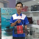 Kunjungi Butik di Boyolali, Iriana Jokowi Pesan Tas Kondangan dari Kulit Ikan Pari