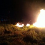 KEBAKARAN KARANGANYAR : Alang-alang Dekat Permukiman Warga Gedongan Terbakar