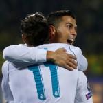 LIGA CHAMPIONS : Benzema Absen, Ronaldo-Bale Pun Cukup Bagi Madrid