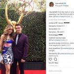 Cinta Laura Gandeng Cowok Ganteng di Emmy Awards 2017