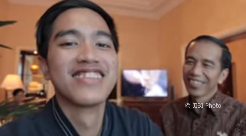 Cuplikan vlog terbaru Kaesang (Youtube)
