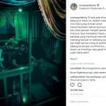 INSTAGRAM ARTIS : Kunjungi Makam Nyi Roro Kidul, Ini yang Dirasakan Denny Sumargo